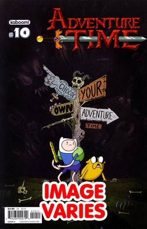 DO NOT USE (DUPLICATE LISTING) Adventure Time #10 Regular Cover (Filled Randomly With 1 Of 2 Covers)