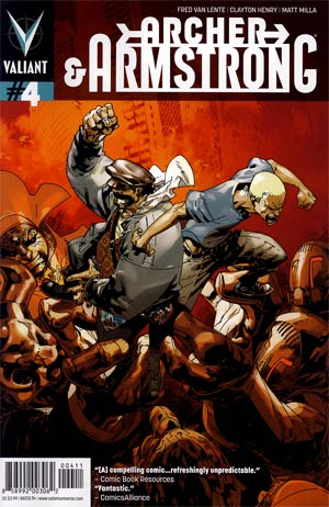 Archer & Armstrong Vol 2 #4 Regular Jason Pearson Cover