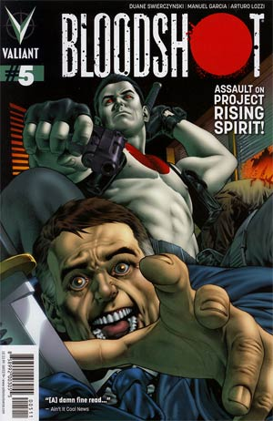 Bloodshot Vol 3 #5 Regular Arturo Lozzi Cover