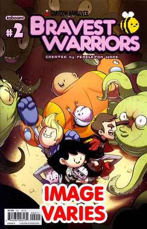 Bravest Warriors #2 Regular Cover (Filled Randomly With 1 Of 2 Covers)