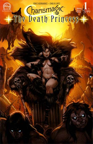 Charismagic Death Princess #1 Cover B Emilio Lopez