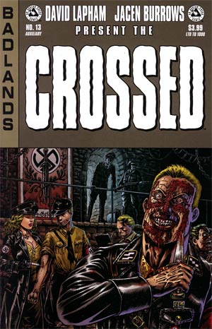 Crossed Badlands #13 Auxiliary Edition