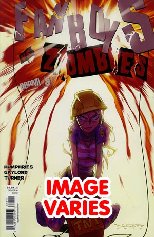 DO NOT USE Fanboys vs Zombies #8 Regular Cover (Filled Randomly With 1 Of 2 Covers)