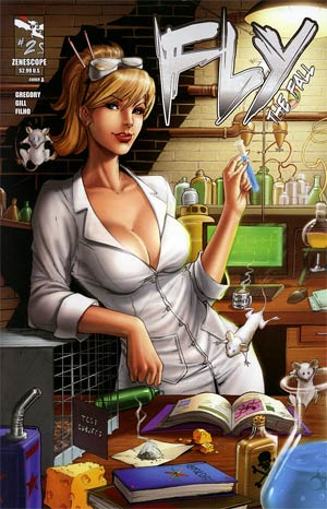 Fly (Zenescope) Vol 2 #2 Cover A Mike DeBalfo