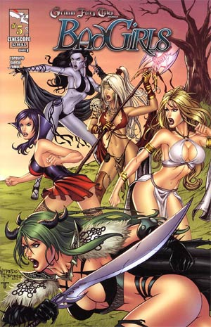 Grimm Fairy Tales Bad Girls #5 Cover B Alfredo Reyes