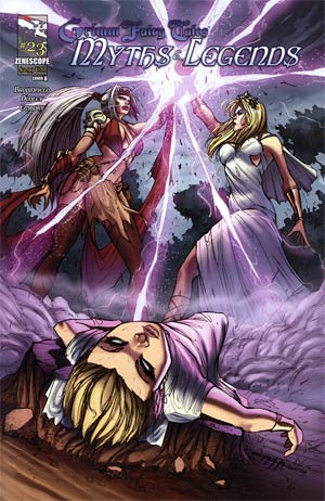 Grimm Fairy Tales Myths & Legends #23 Cover A Giuseppe Cafaro