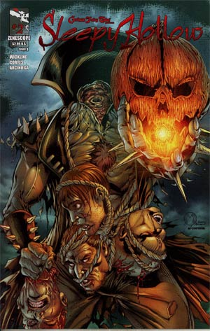 Grimm Fairy Tales Presents Sleepy Hollow #2 Cover A Marat Mychaels