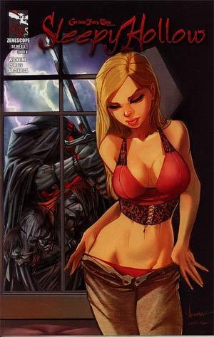 Grimm Fairy Tales Presents Sleepy Hollow #2 Cover B Ale Garza