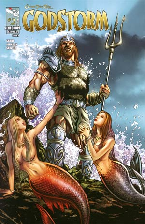 Grimm Fairy Tales Presents Godstorm #2 Cover A Anthony Spay