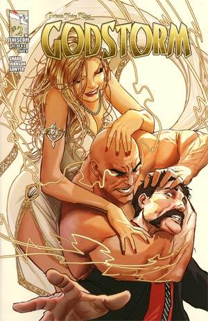 Grimm Fairy Tales Presents Godstorm #2 Cover B Stjepan Sejic