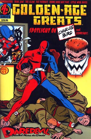 Golden Age Greats Spotlight Vol 11 Superheroes And Others From Charlie Brio And Friends
