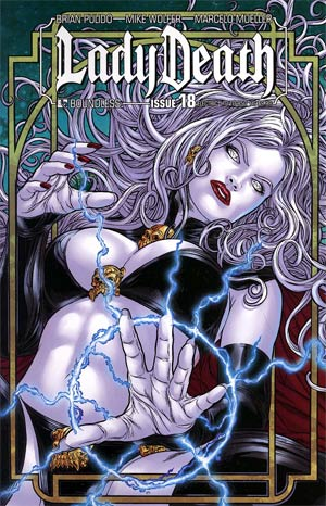 Lady Death Vol 3 #18 Electric Cvr
