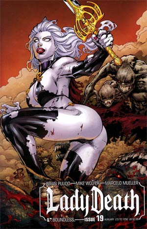 Lady Death Vol 3 #19 Auxiliary Edition