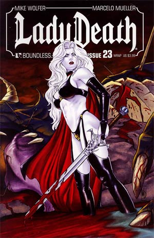 Lady Death Vol 3 #23 Wraparound Cover