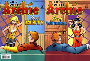 Life With Archie Married Life #25 Variant Fernando Ruiz Wraparound Cover