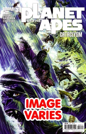 DO NOT USE Planet Of The Apes Cataclysm #3 Regular Cover (Filled Randomly With 1 Of 2 Covers)