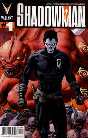 Shadowman Vol 4 #1 1st Ptg Regular Patrick Zircher Cover