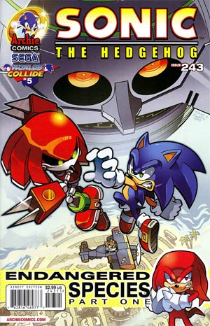 Sonic The Hedgehog Vol 2 #243