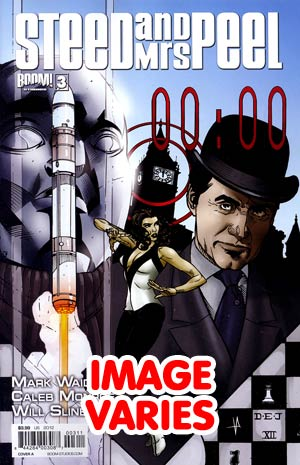 Steed And Mrs Peel Vol 2 #3 Regular Cover (Filled Randomly With 1 Of 2 Covers)