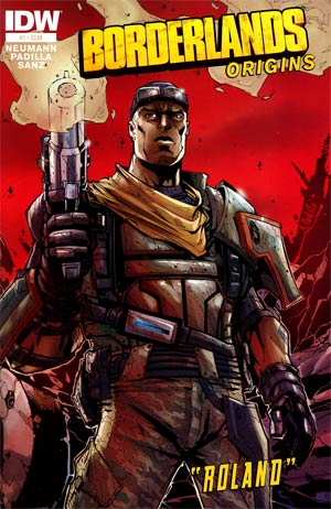 Borderlands Origins #1 1st Ptg Regular Augustin Padilla Cover