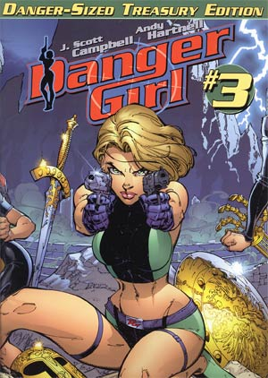 Danger Girl Danger-Sized Treasury Edition #3