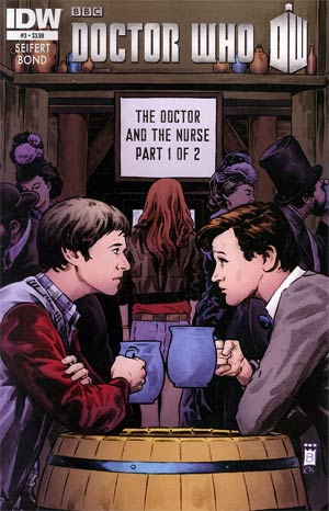 Doctor Who Vol 5 #3 Regular Philip Bond Cover