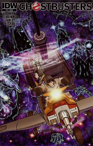 Ghostbusters #15 Regular Dan Schoening Cover