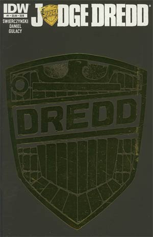 Judge Dredd Vol 4 #1 Variant Subscription Cover
