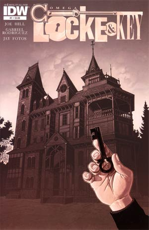 Locke & Key Omega #1 Regular Gabriel Rodriguez Cover