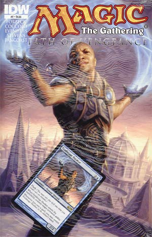 Magic The Gathering Path Of Vengeance #2 Regular Ryan Pancoast Cover