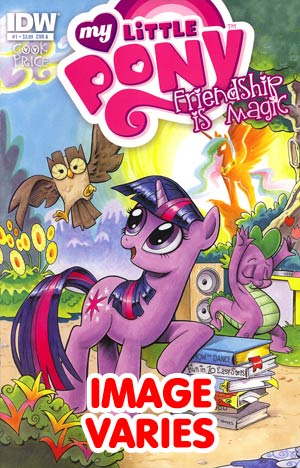 DO NOT USE (DUPLICATE LISTING) My Little Pony Friendship Is Magic #1 1st Ptg Regular Cover (Filled Randomly With 1 Of 6 Covers)