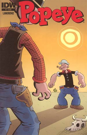 Popeye Vol 3 #7 Regular Roger Langridge Cover