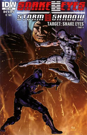 Snake Eyes & Storm Shadow #19 Regular Alex Cal Cover