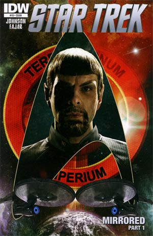 Star Trek (IDW) #15 Regular Tim Bradstreet Cover