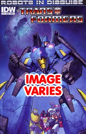Transformers Robots In Disguise #11 Regular Cover (Filled Randomly With 1 Of 2 Covers)