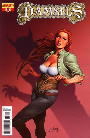 Damsels #3 Regular Joseph Michael Linsner Cover