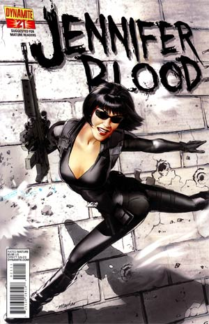 Garth Ennis Jennifer Blood #21