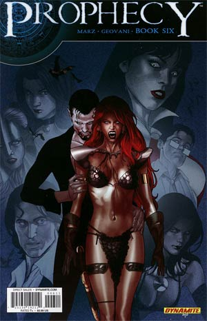 Prophecy #6 Regular Paul Renaud Cover