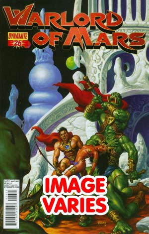 DO NOT USE (DUPLICATE LISTING) Warlord Of Mars #26 Regular Cover (Filled Randomly With 1 Of 2 Covers)