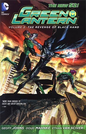 Green Lantern (New 52) Vol 2 Revenge Of Black Hand HC