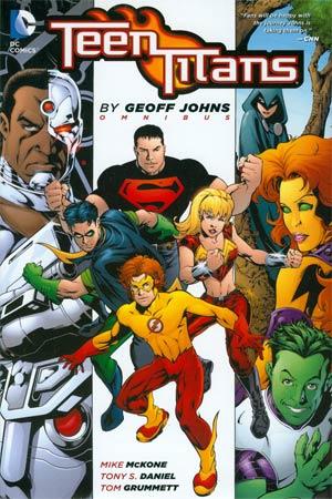 Teen Titans By Geoff Johns Omnibus HC