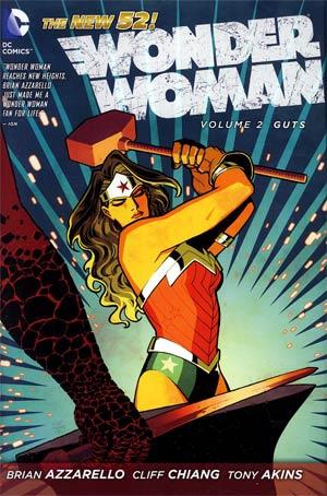Wonder Woman Vol 2 Guts HC
