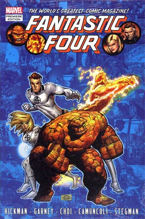 Fantastic Four By Jonathan Hickman Vol 6 HC