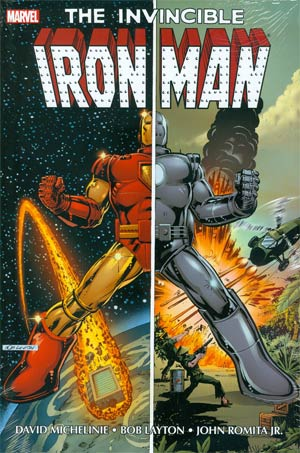 Iron Man By David Michelinie Bob Layton & John Romita Jr Omnibus Vol 1 HC Direct Market Bob Layton Variant Cover