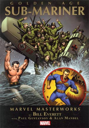 Marvel Masterworks Golden Age Sub-Mariner Vol 1 TP Book Market Edition