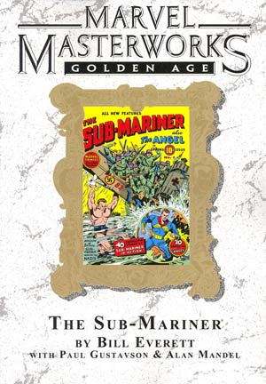 Marvel Masterworks Golden Age Sub-Mariner Vol 1 TP Direct Market Edition