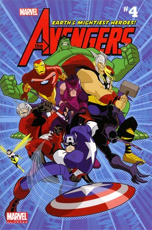 Marvel Universe Avengers Earths Mightiest Heroes Comic Reader #4 TP