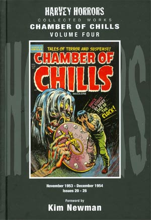 Harvey Horrors Collected Works Chamber Of Chills Vol 4 HC