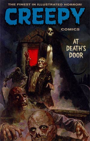 Creepy Comics At Deaths Door TP