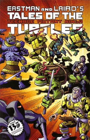 Tales Of The Teenage Mutant Ninja Turtles Vol 1 TP